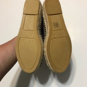 Johnny Was Shoes - Johnny Was espadrille flats 41 NWOT